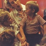Prince Harry aged 4 with Ann at Fun With Music