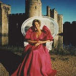 Ann at Bodiam Castle (Photo by Ezra Rachlin)