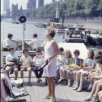 Water Music on the Thames 1968 (Photo by Ezra Rachlin)