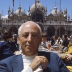 Ezra on honeymoon in Venice 1969