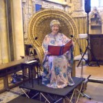 Aged 75 rehearsing for a Choral concert in St Thomas the Martyr Church in Winchelsea