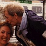 A kiss from Peter O'Toole after a Water Music performance